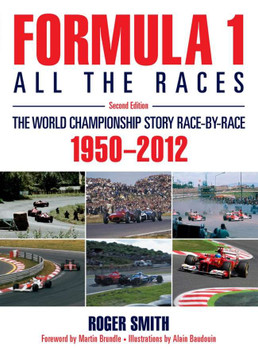 Formula 1: All the Races (2nd Edition) (hardback)