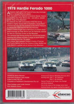 Bathurst 1978 Hardie-Ferodo 1000 2 DVD Set back cover