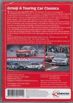 Group A Touring Car Classics DVD Back