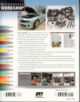 How to Tune and Modify Automotive Engine Management Systems Back Cover