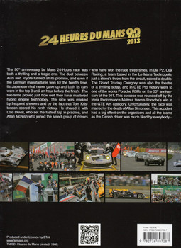 2013 Le Mans 24 Hours: Official Book Back