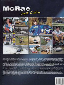 McRae: Just Colin Back Cover