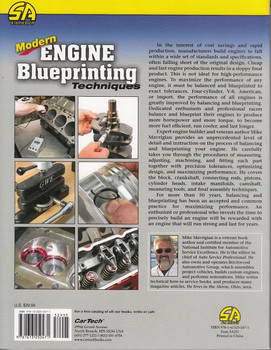 Modern Engine Blueprinting Techniques Back Cover