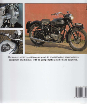 Factory-Original Triumph Twins Back Cover
