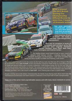 BTCC: The 2013 The Dunlop MSA British Touring Car Championship DVD
