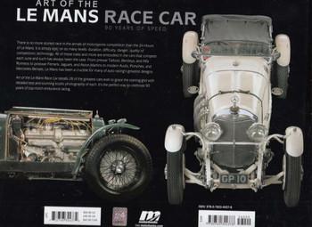 Art of The Le Mans Race Car Back Cover