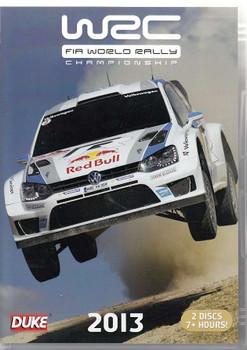 FIA World Rally Championship 2013 NTSC 2 DVD Set