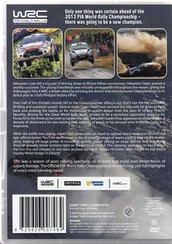 FIA World Rally Championship 2013 NTSC 2 DVD Set Back