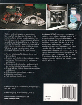 Car Brakes A Guide to Upgrading, Repair and Maintenance Back Cover