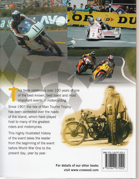 100 Years of TT Isle of Man Back Cover