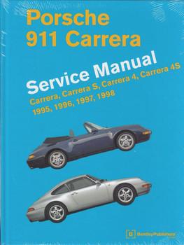 Porsche 911 Carrera, S, 4, 4S  Type 993 1995 - 1998 Workshop Manual