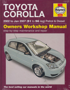 toyota corolla 1 6l 1 8l 1999 2006 workshop manual rh automotobookshop com au toyota corolla axio 2007 service manual toyota corolla service and repair manual 2002 to 2007 pdf