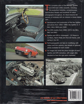 Triumph Spitfire and GT6 The Complete Story Back Cover