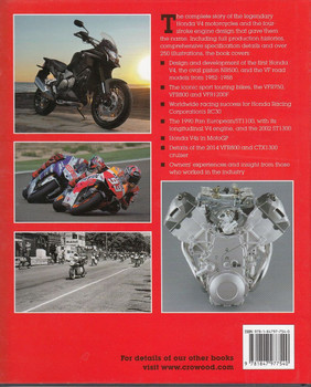 Honda V4 The Complete Four-Stroke Story Back Cover