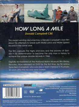 How Long a Mile - Donald Campbell's Own Story DVD Back Cover