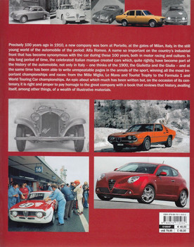 Alfa Romeo from 1910 to 2010 back cover