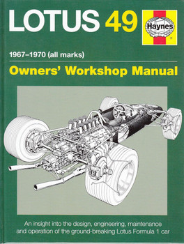 Lotus 49 1967 - 1970 (all marks) Owners' Workshop Manual