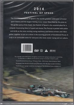Goodwood: 2014 Festival of Speed DVD Back Cover