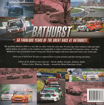Bathurst 50 Years of The Great Race Back Cover