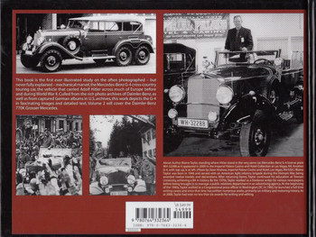 Mercedes-Benz G-4 Cross-Country Touring Car: Hitler's Chariots Back Cover