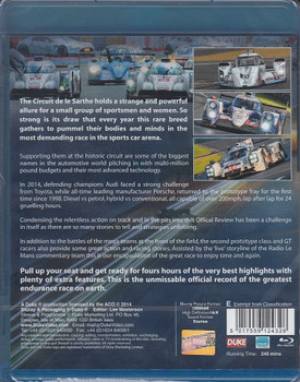Le Mans 2014: The Official Review bluray back