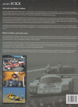 Jacky Ickx - Mister Le Mans and Much More Back Cover