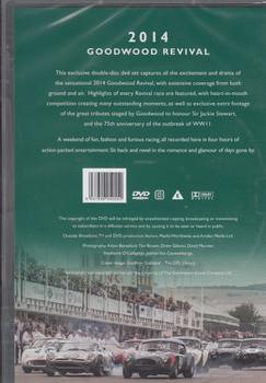 Goodwood Revival 2014 DVD Back Cover