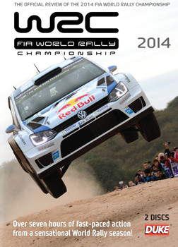 FIA World Rally Championship 2014 2 DVD Set