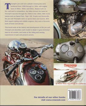 Triumph Pre-Unit Twins Back Cover