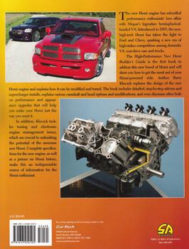 High-Performance New HEMI Builder's Guide 2003 - Present Back Cover