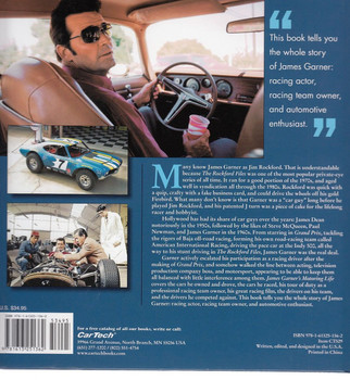 James Garner's Motoring Life Back Cover