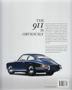 The Roots of a Legend Porsche 901 Back Cover