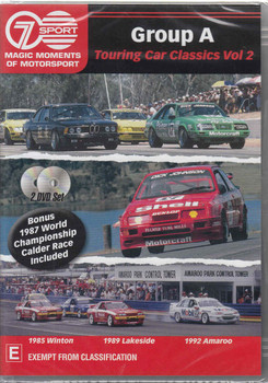 Group A Touring Car Classics Vol 2 (2 DVD Set)