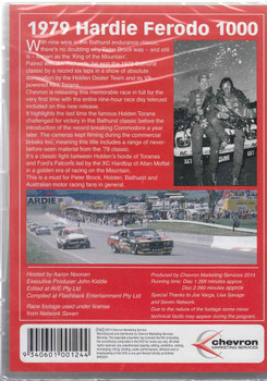 Bathurst 1979 Hardie - Ferodo 1000 2 DVD Set Back Cover