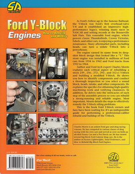 Ford Y-Block Engines how to Rebuild and Modify Back Cover