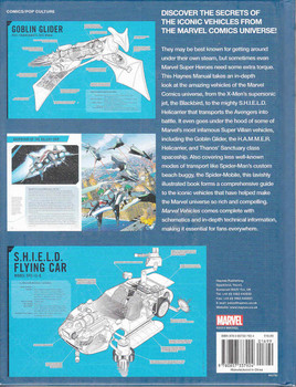 Marvel Vehicles: Owner's Workshop Manual Back Cover