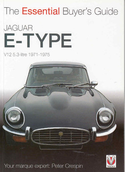 Jaguar E-Type V12 5.3 litre 1971 - 1975: The Essential Buyer's Guide, Author: Peter Crespin, Softbound, ISBN: 9781845840778, Published 2011 and reprinted in 2014  This publication is essential to all enthusiasts, owners and prospective buyers of the unique 5.3 litre V-12 Jaguar E-Type (XKE  in the US)