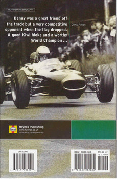 Memories Of The Bear: A Biography Of Denny Hulme Back Cover
