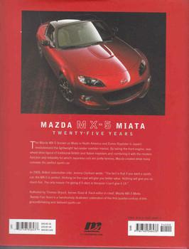 Mazda MX - 5 Miata Twenty - Five Years - back