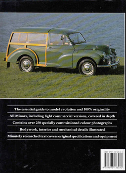 Original Morris Minor - back