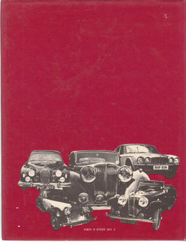 Jaguar Saloon Cars - 1st Edition - back
