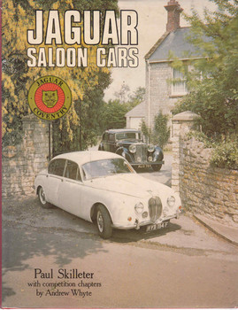 Jaguar Saloon Cars - 1st Edition  - front