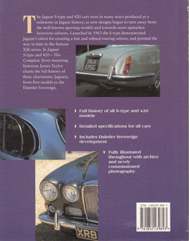 Jaguar S-Type and 420: The Complete Story - 1st Edition - back