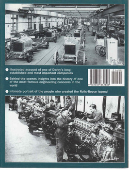 Rolls-Royce At Derby - 1st Edition  - back