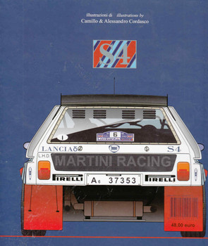 Lancia Delta S4 - back