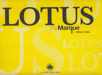 Lotus: The Marque - front