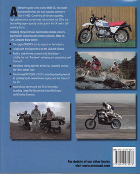 BMW GS The Complete Story - back