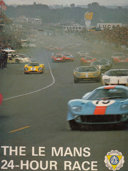 The Le Mans 24-Hour Race Christian Moity - front