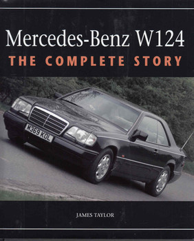 Mercedes-Benz W124 The Complete Story - front