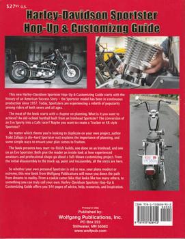 Harley-Davidson Sportster Hop-Up & Customizing Guide - back